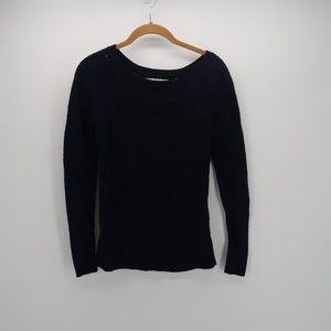 Ann Taylor LOFT Long Slv Ribbed Pullover Sweater
